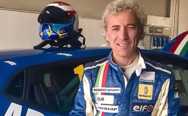 Massimo Ferraro torna in pista a Adria al volante della Clio RS 1.6 Turbo del team Melatini Racing