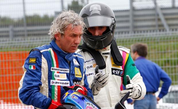 Massimo Ferraro a Brno con il team Melatini Racing