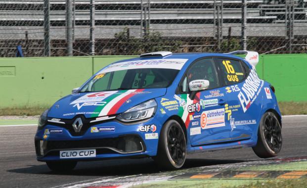 Sandrucci in pole a Monza nella Clio Cup Italia