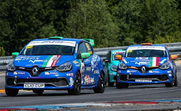 A Misano debutto nella Clio Cup Italia targato Melatini Racing per Maurizio Calgaro