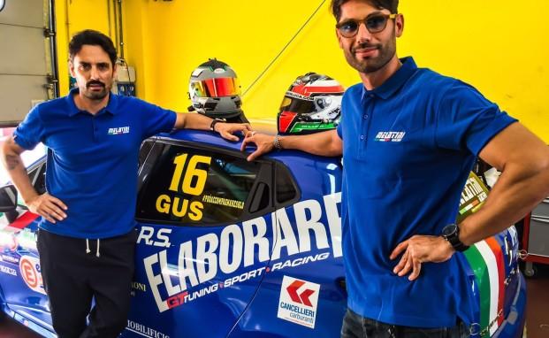 Simone Di Luca a Vallelunga sulla quarta vettura del team Melatini Racing
