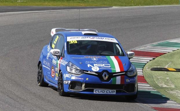 Per Melatini Racing è subito podio con Christian Mancinelli