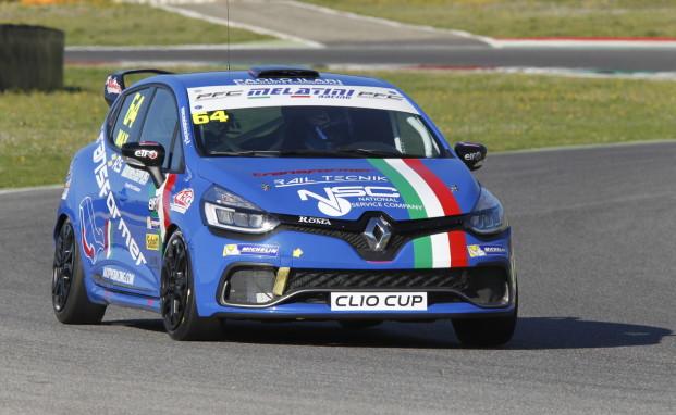 """Al Mugello i primi responsi nella Clio Cup Italia: Ciocca due volte nella """"top 10"""" al termine delle qualifiche"""