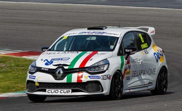 A Misano è ancora sfida per Melatini Racing nella Clio Cup Italia