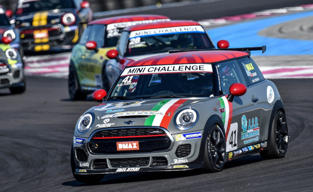 Obiettivo leadership a Misano per il team Melatini Racing nel terzo appuntamento del MINI Challenge Italia