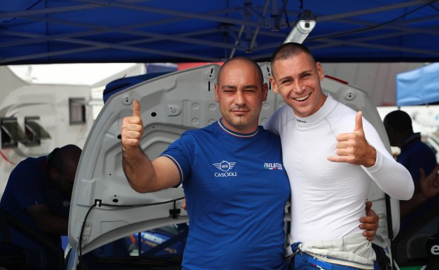 Il team Melatini Racing a Misano con Ermes Della Pia per fare ancora bene nella Clio Cup Italia