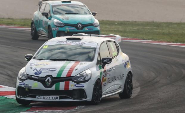 A Misano Ermes Della Pia ad un passo dal podio nella Clio Cup Italia