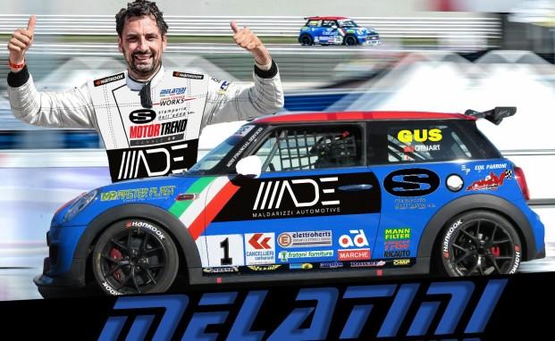 """Il campione 2018 Gustavo Sandrucci ancora con Melatini Racing per puntare al """"bis"""""""