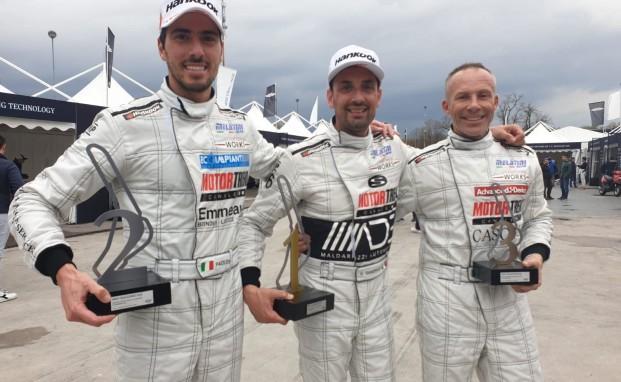 A Monza Sandrucci vince, Silvestrini e Tronconi sul podio
