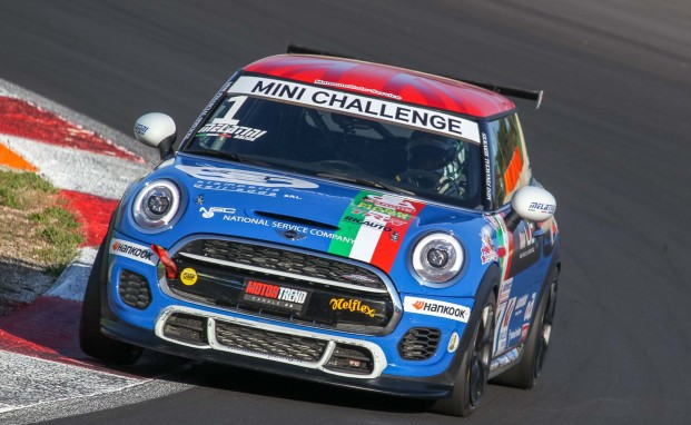 "MINI Challenge: a Vallelunga ""uno-due"" Melatini Racing"