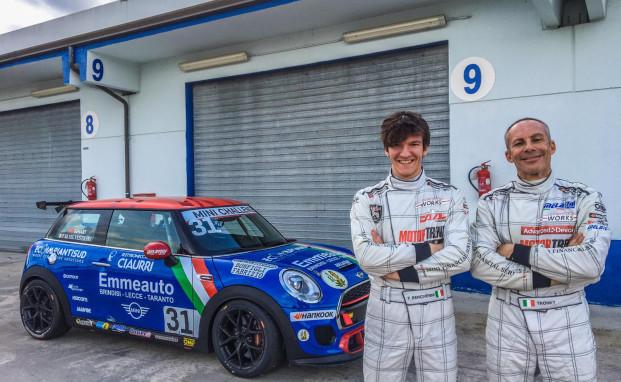 A Magione Melatini Racing in pista con Tronconi e Bencivenni