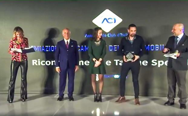 Gustavo Sandrucci premiato da ACI Sport per il titolo del MINI Challenge Italia 2019