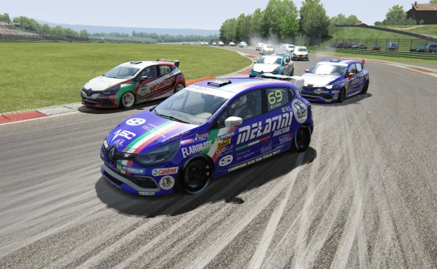 Melatini Racing vince con Stefano Zeni il primo titolo della Clio Cup Italia eSport Series