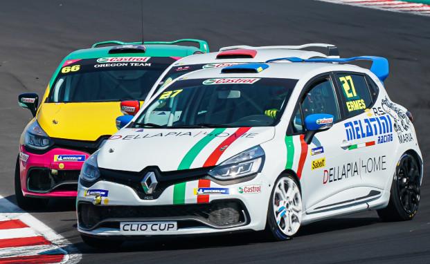 """Melatini Racing a Monza nella Clio Cup Italia con Della Pia e la """"star"""" Sandrucci"""