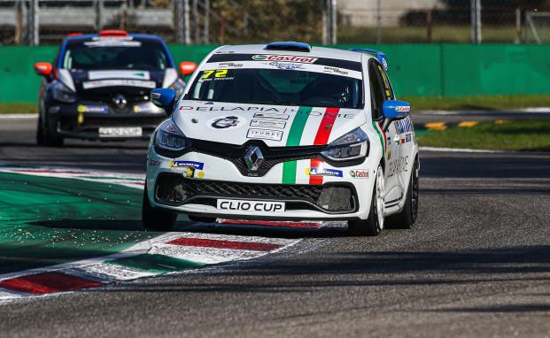 A Monza debutto positivo per Eliseo Cruciani nella Clio Cup Italia