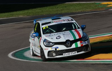 Sandrucci in pole a Imola nella Clio Cup Italia